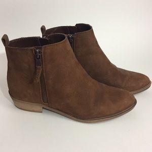 Ralph Lauren Caramel Brown Booties size 7.5